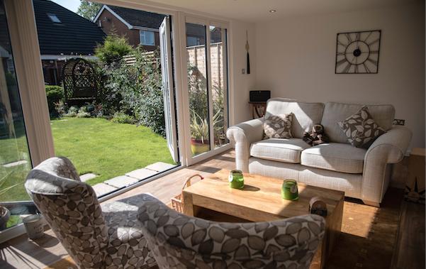 Garden Room in Warrington, near Chester