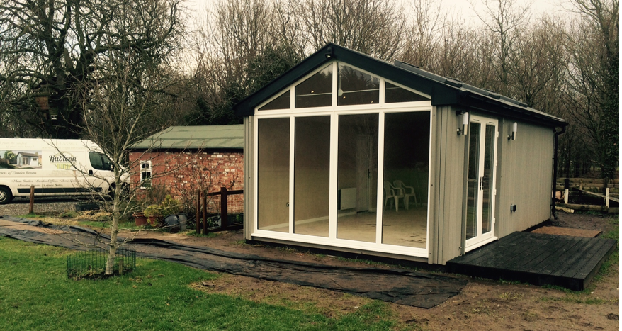 Insulated Garden Room in Chester, Cheshire uk