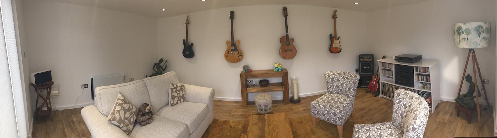 Garden Room for Guitar Studio in Warrington,nr Chester, Cheshire